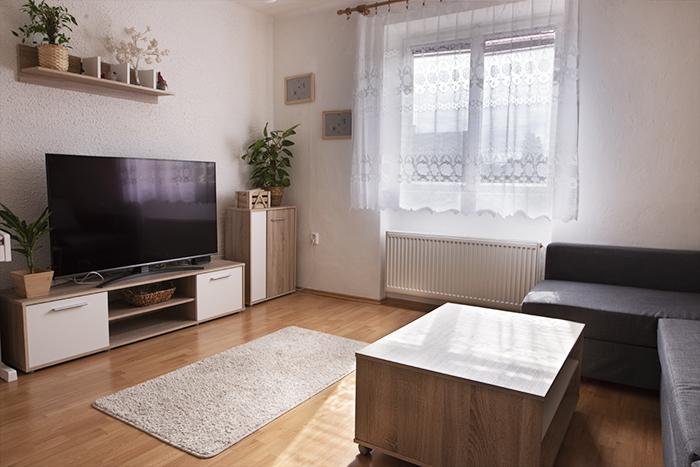 Fotografia HDR de imóveis do interior de uma sala de estar