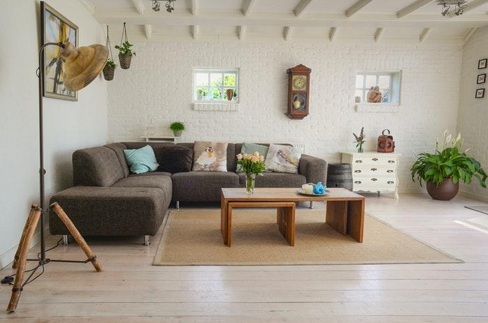 Beautiful interior real estate photography shot