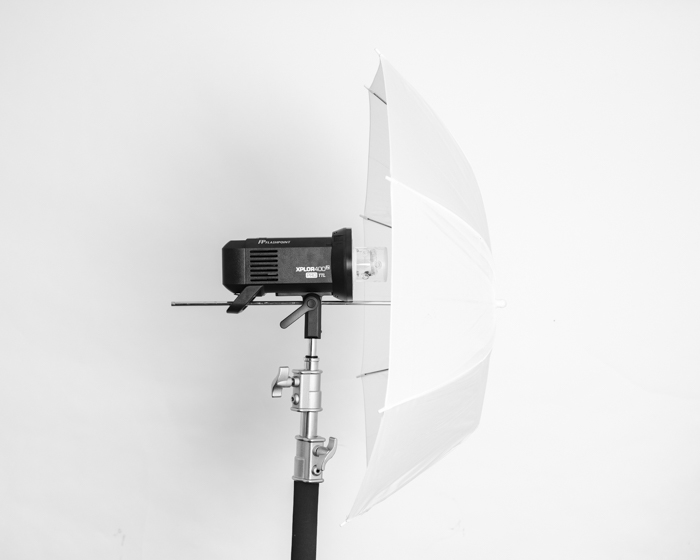 A photography umbrella