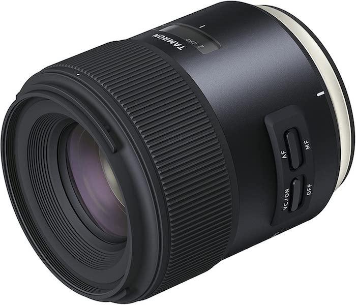Lente Tamron 45mm f / 1.8 VC