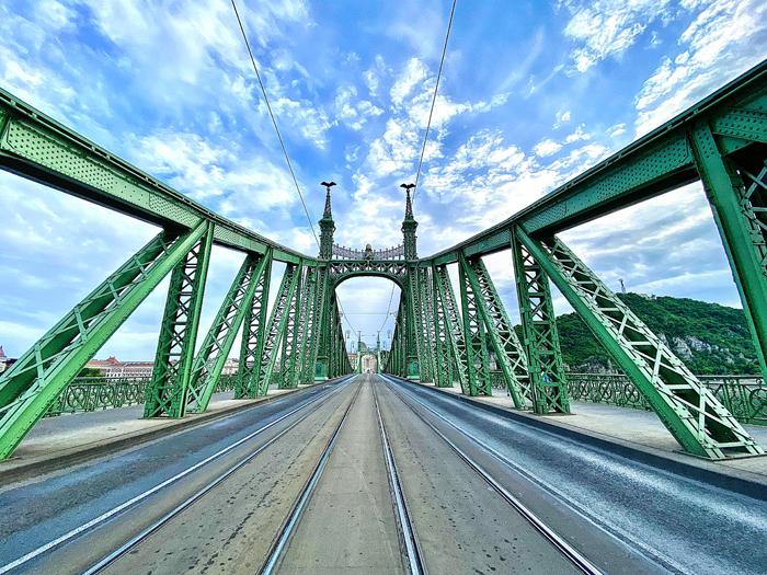 Ponte Elisabeth em Budapeste