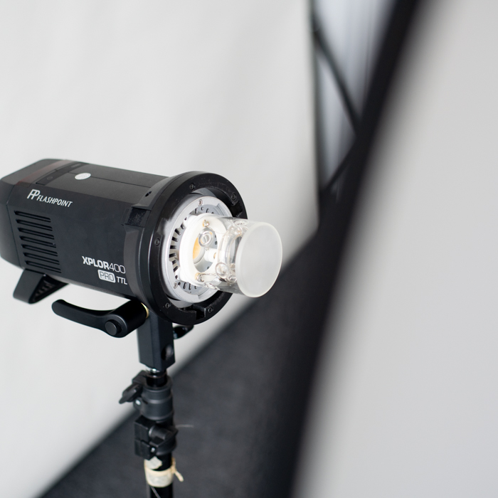 Lighting setup for 360 product photos