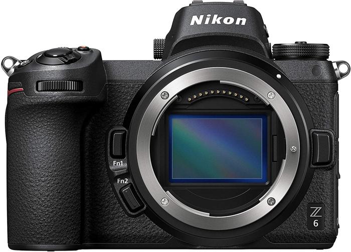Um corpo de câmera Nikon Z6