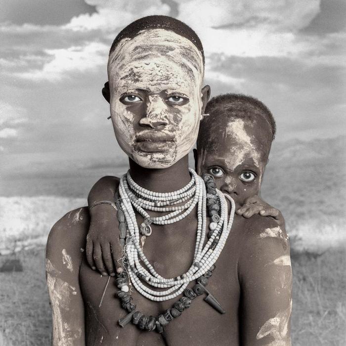 Um pai indígena e um filho