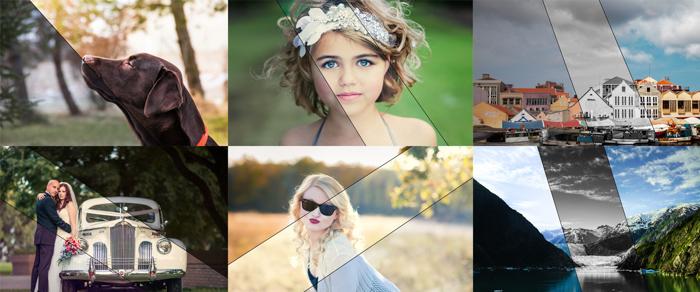 Imagens editadas pelas predefinições gratuitas do Lightroom do Mini Enlighten
