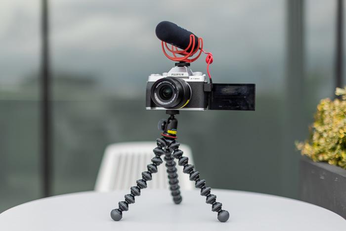 Imagem do kit de vlogging Fujifilm X-T200