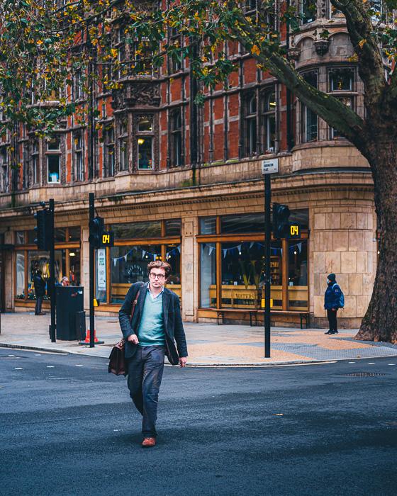 Imagem de fotografia de rua tirada com a Fujifilm X-T200 em Londres