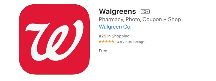 a screenshot of walgreens free picture printing app