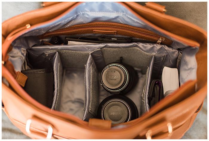 Fotografia do interior da Bolsa Kelly Moore Libby 2.