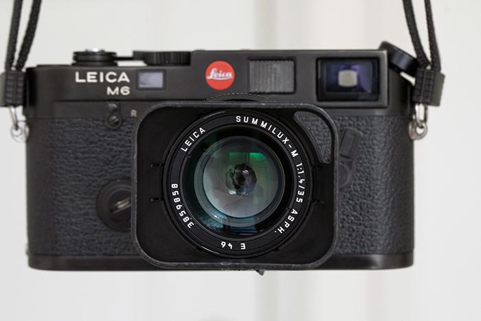 Photograph of a Leica M6