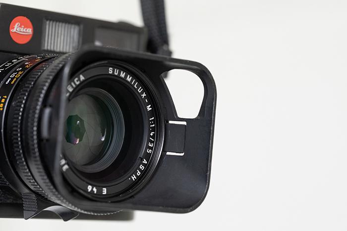 A closeup image of the Leica M6