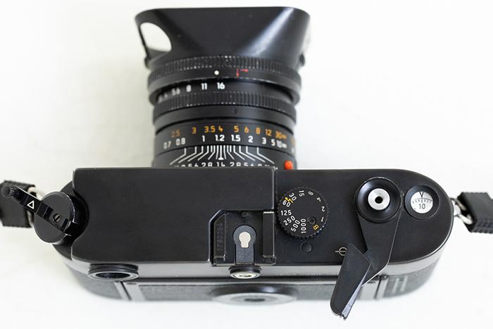 Leica M6 planta vista