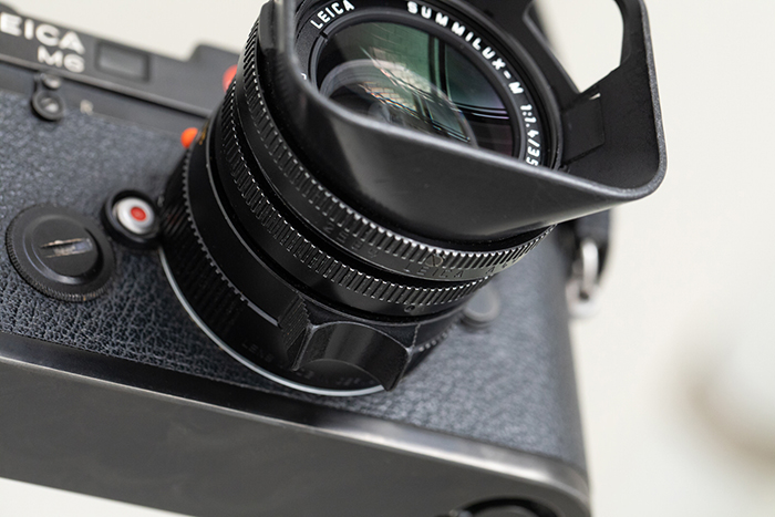 Leica M6 with lens
