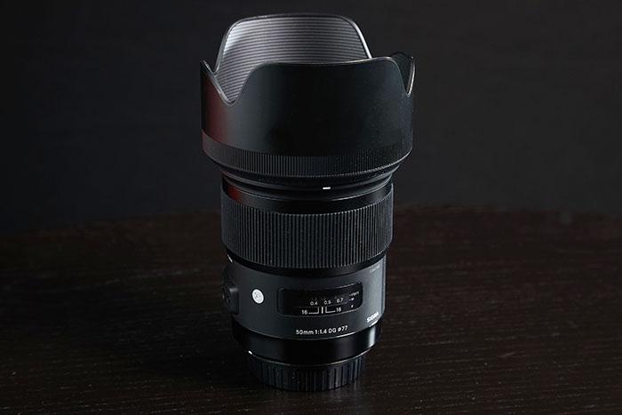 Lente artística Sigma 50mm f 1.4 dg hsm