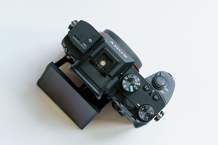 Uma visão plana do Sony A7 III