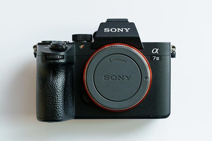 Imagem de um Sony A7 III