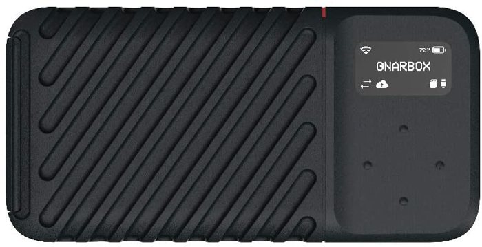 GNARBOX 2.0 SSD - Rugged Backup Device for Your Camera