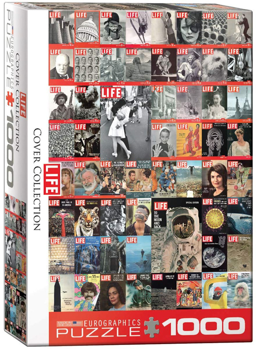 EuroGraphics The Life Cover Collection -1000 Piece Puzzle