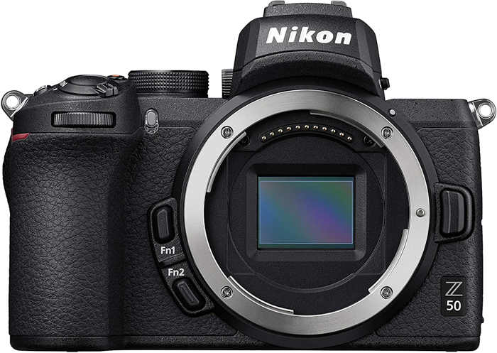 Presente da câmera Nikon Z50