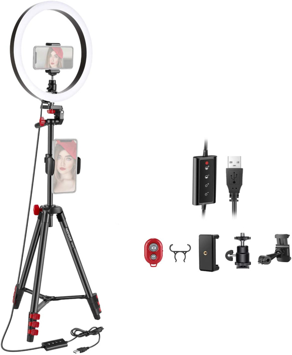 Neewer Selfie Ring Light With Tripod Stand