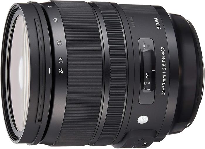 Sigma 24-70mm f/2.8 DG OS HSM Art Lens