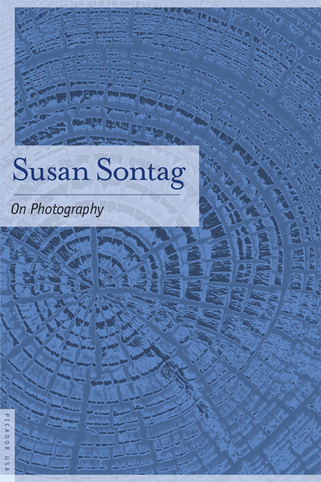 Susan Sontag 'On Photography' book cover