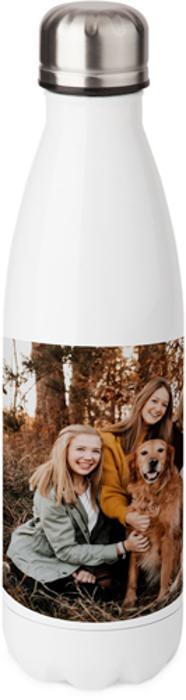 Garrafa de água para presente com foto personalizada