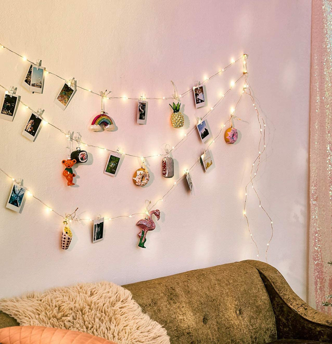 Colorful LED Photo Clip String Lights