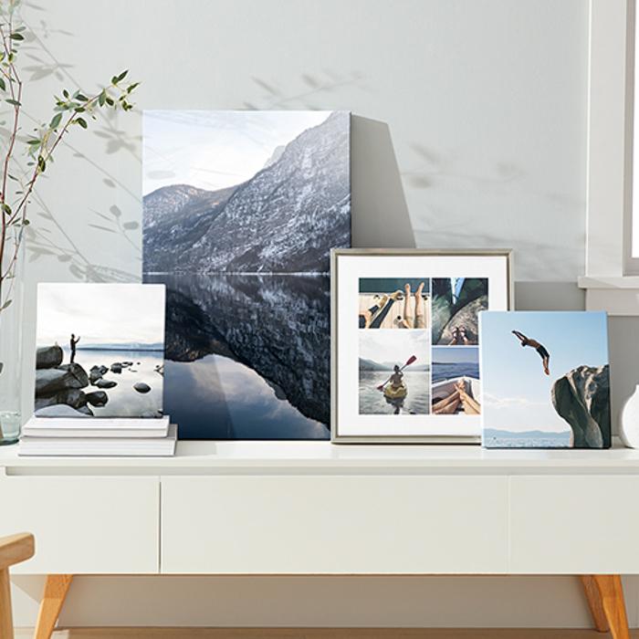 fotos impressas em molduras