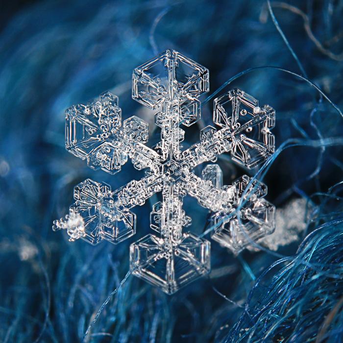 Um lindo floco de neve