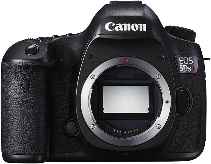 Canon EOS 5DS R camera for landscape photography