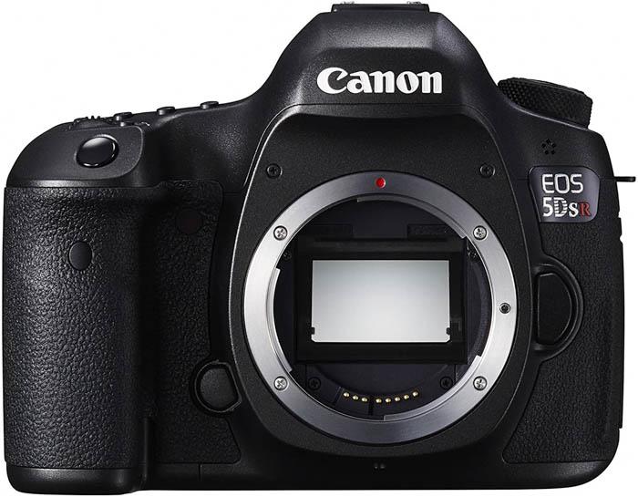 Câmera Canon EOS 5DS R para fotografia de paisagem