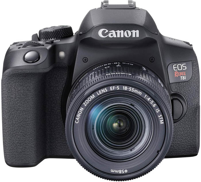 Image of the Canon EOS 850D / Rebel T8i