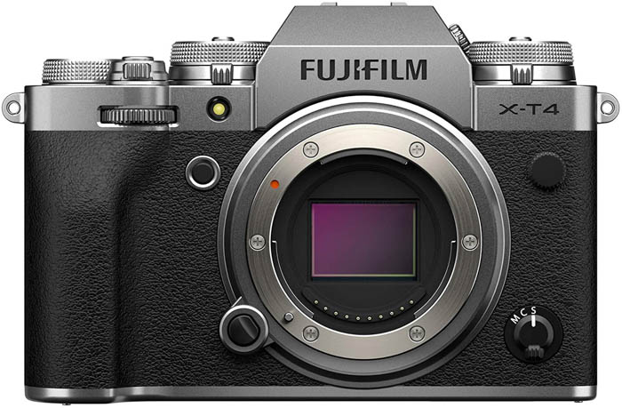 Image of the Fujifilm X-T4