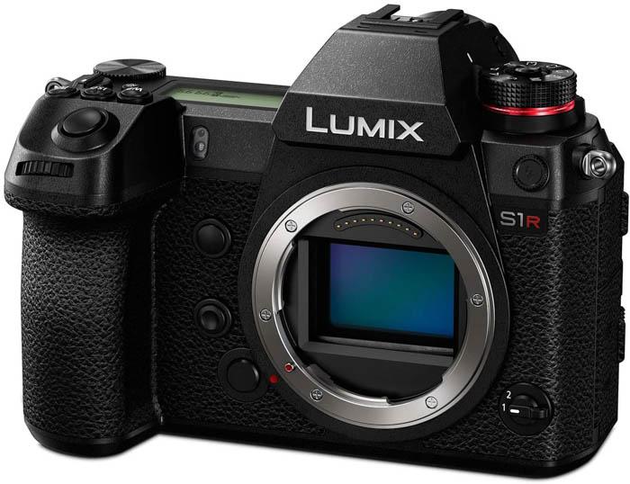 Image of the Panasonic Lumix S1R