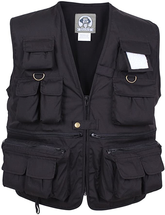 Rothco Uncle Milty Travel Vest for photographers