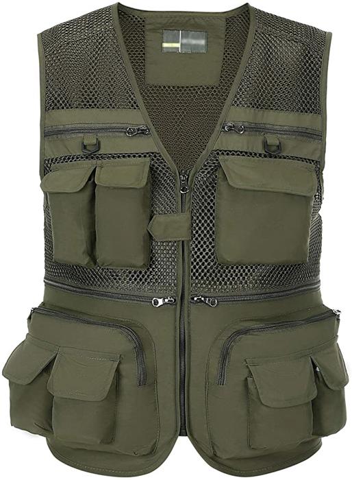 Spanye Vest Outdoor Men's photography vests