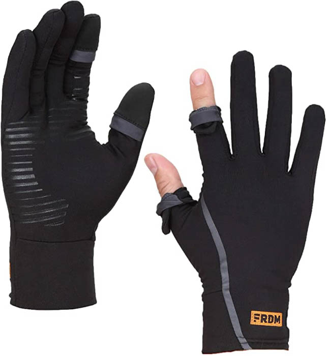 Image of the FRDM Vigor Lightweight Liner Gloves Touchscreen photography gloves