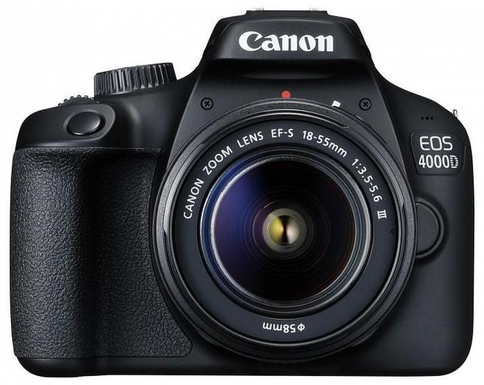 καλύτερη κάμερα για πορτρέτα Canon EOS 4000D