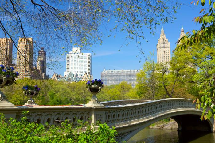 Uma imagem da fotografia de viagens em Nova York