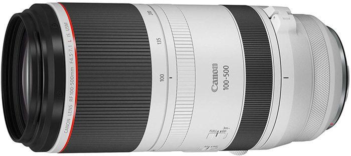 Imagem Canon RF 100-500mm f / 4.5-7.1L IS USM