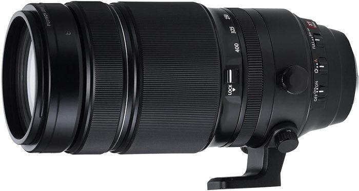 Imagem de lente zoom telefoto Fujifilm XF 100-400mm f / 4.5-5.6 R LM OIS WR