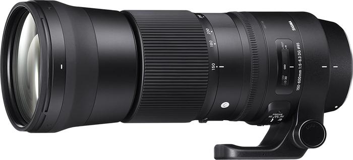 Imagem de supertelefoto Sigma 150-600mm f / 5-6.3 DG OS HSM