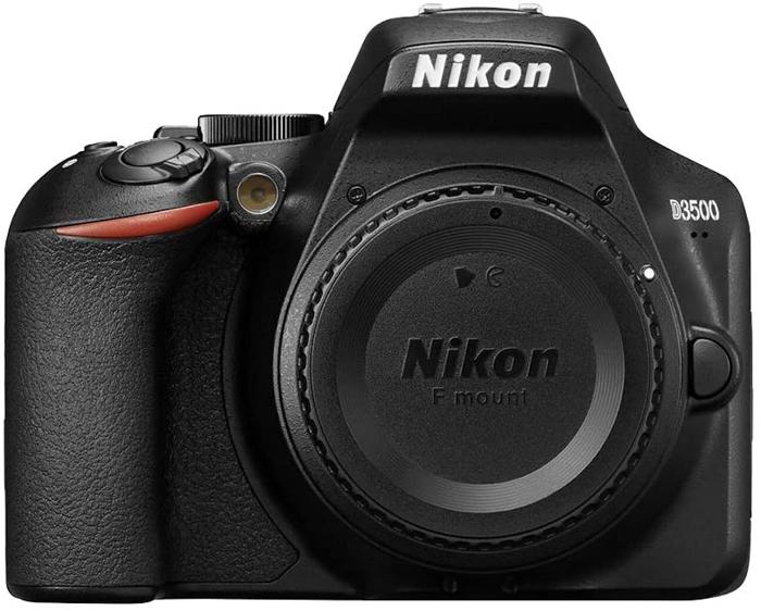 Uma imagem da Nikon D3500