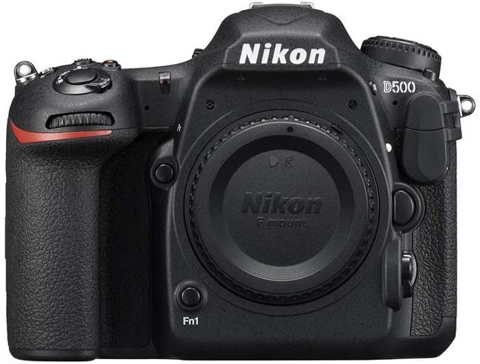Uma imagem de uma Nikon D500