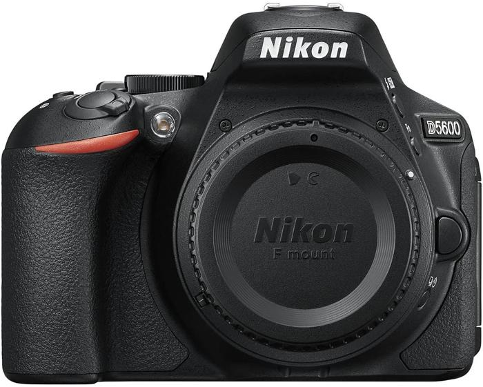Uma imagem de uma Nikon D5600