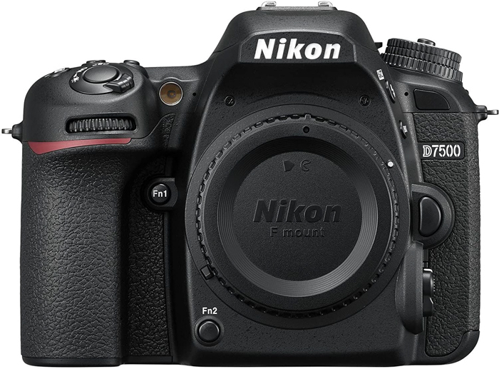 Uma imagem da Nikon D7500