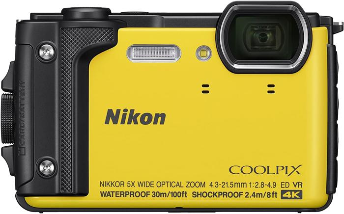 Uma imagem da câmera aponte e dispare Nikon Coolpix W300