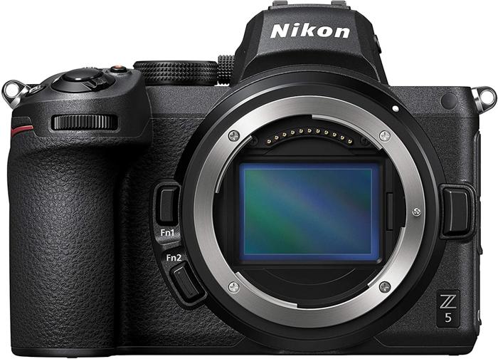 Uma imagem da câmera Nikon Z5