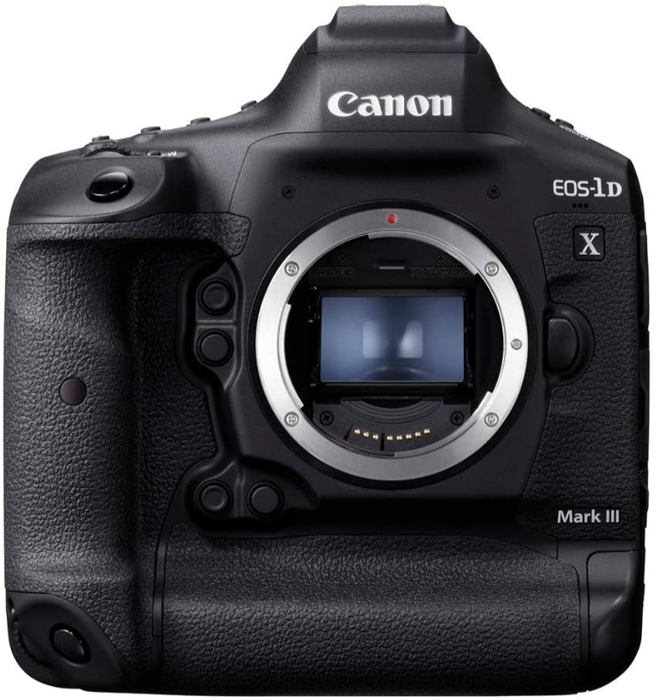Imagem da câmera Canon 1DX Mark III